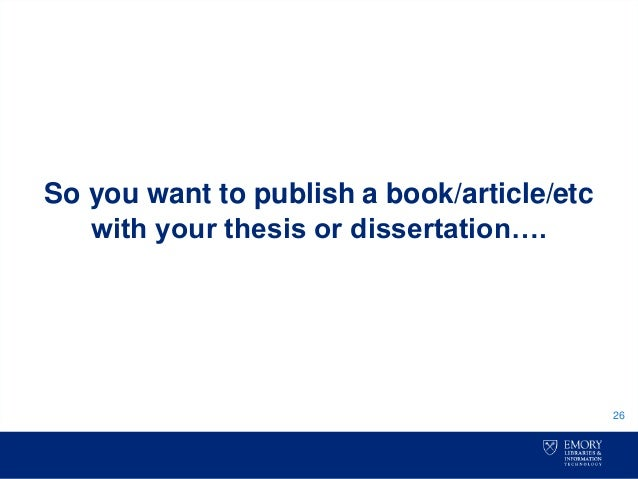 Thesis or desertation