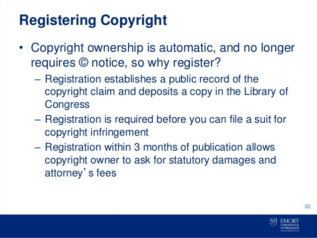 register copyright dissertation More information on registration, see copyrightgov, and the online copyright registration form how can i share my thesis when you've finally finished your thesis or dissertation, of course you want to make sure it is shared as widely as possible.