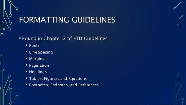 apa 6th edition dissertation chapter headings