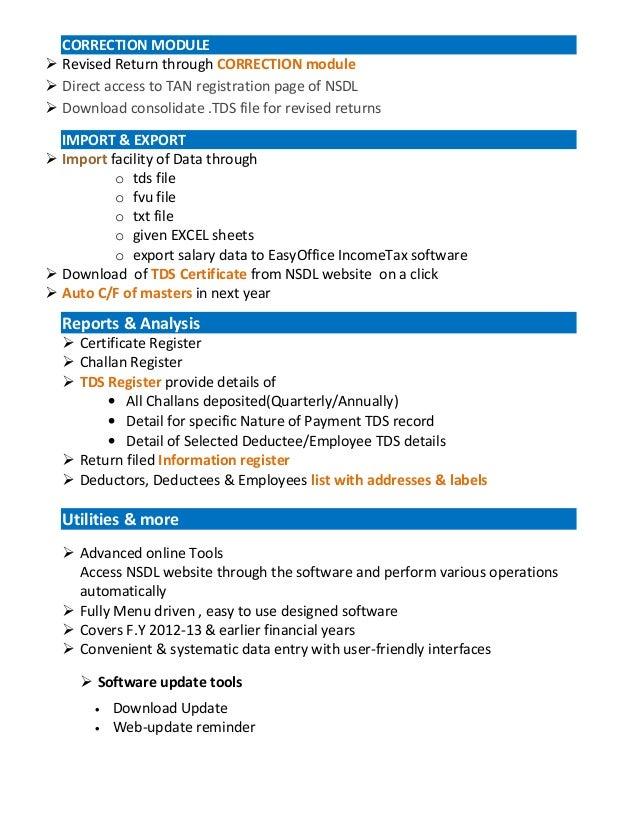 Tds certificate download nsdl