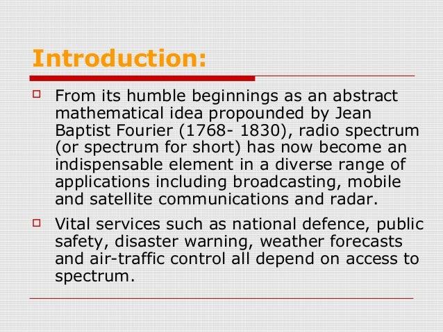 Spectrum Management (ETE 521 L7) Slide 2