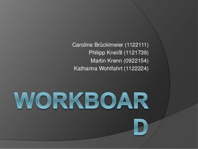 Caroline Brücklmeier (1122111) Philipp Kneißl (1121739) Martin Krenn (0922154) Katharina Wohlfahrt (1122224)