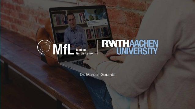 Dr. Marcus Gerards