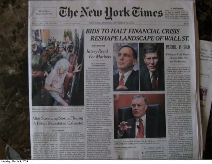 Monday, March 9, 2009