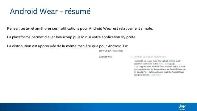 etendre ses applications aux smartwatches et tvs android