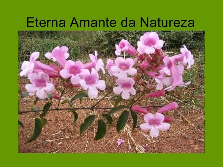 Eterna Amante da Natureza