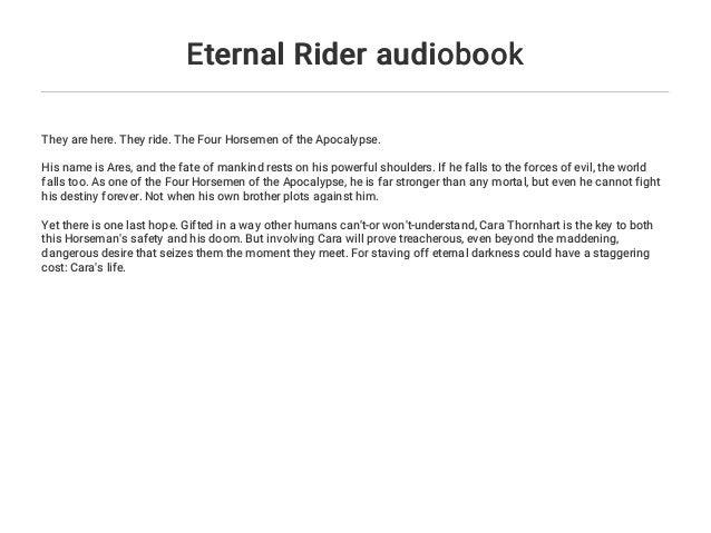 Eternal Rider audiobook