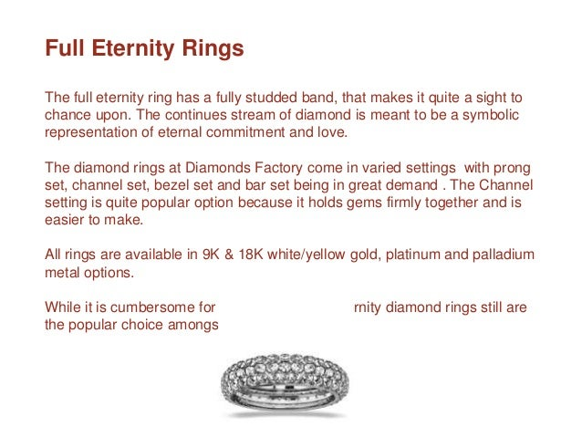 Types Of Eternity Bands Enement Ring Styles