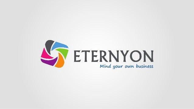 A ETERNYON é uma empresa de Publicidade e Tecnologia, que utiliza o Marketing Multinível como meio de expansão Global de n...