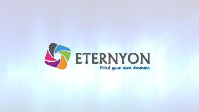 Quem somos A ETERNYON é uma empresa de Publicidade e Tecnologia, que utiliza o Marketing Multinível como meio de expansão ...