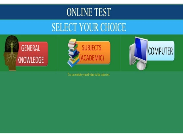 Etest online Slide 2
