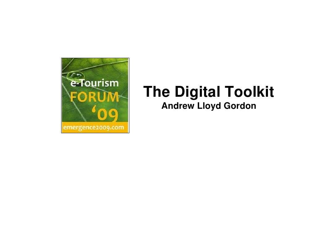 The Digital Toolkit   Andrew Lloyd Gordon
