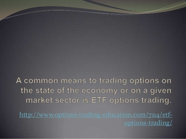 Etf options trading service