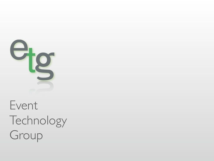 EventTechnologyGroup