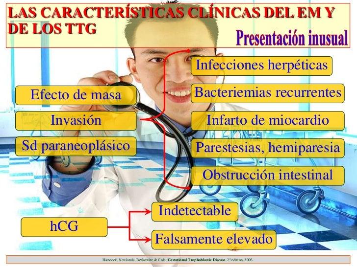 LAS CARACTERÍSTICAS CLÍNICAS DEL EM YDE LOS TTG                                                                      Infec...