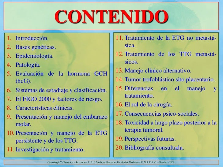 CONTENIDO1.  Introducción.                                                                 11. Tratamiento de la ETG no me...