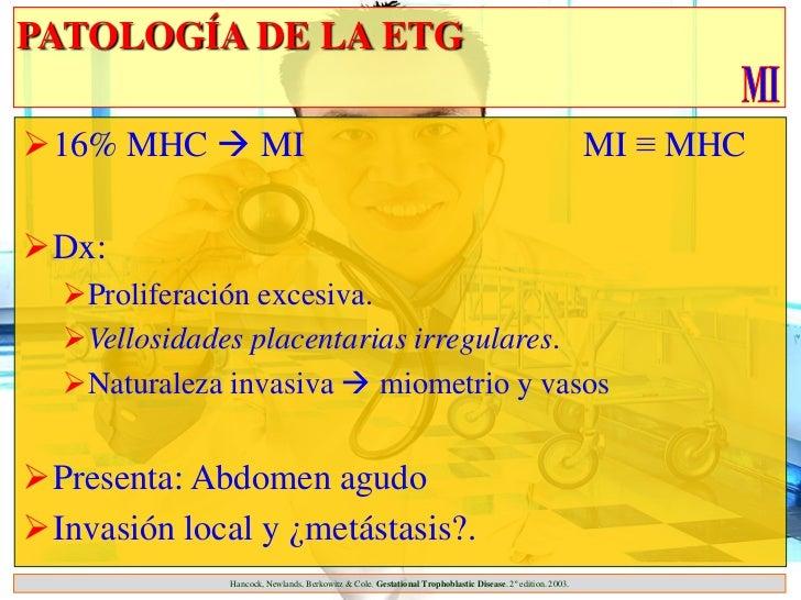 PATOLOGÍA DE LA ETG16% MHC  MI                                                                                          ...