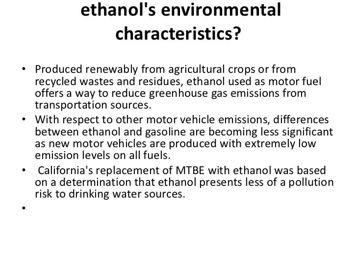 ethanol as a motor vehicle fuel essay Evaluation of ethanol fuel blends in epa moves2014 model january 2016 consideration for the use of any fuel used in motor vehicles, with accurate prediction of.