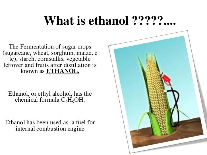 What Is Ethanol >> Https Image Slidesharecdn Com Ethanolasatranspor