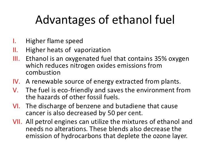 Ethanol as a transportation fuel