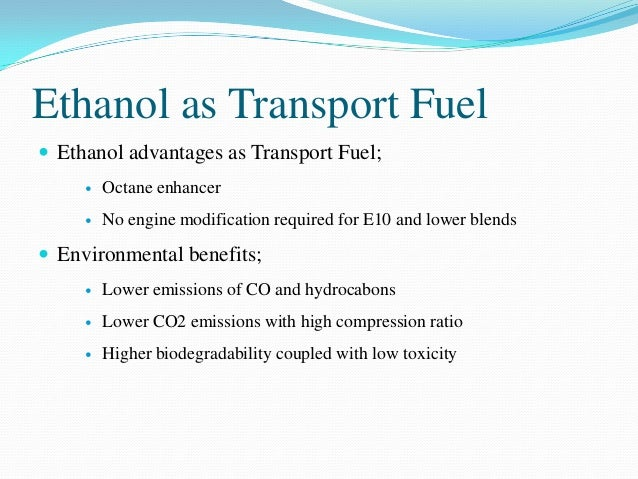 Advantage Of Using Absolute Ethanol Biology Essay