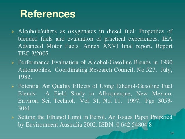 research paper on ethanol Free ethanol fuel papers, essays, and research papers.