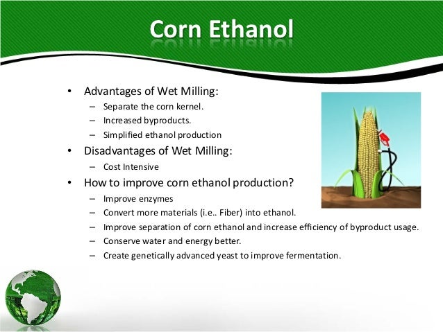 Corn and Lignocellulosic Ethanol Production Processes
