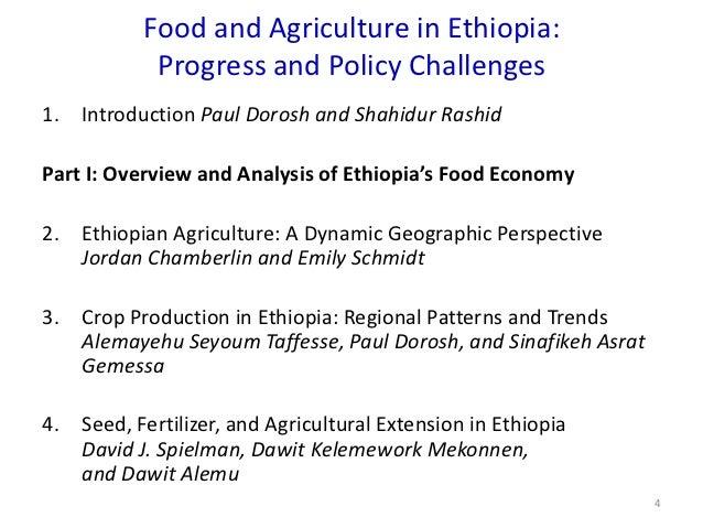 The Response of Ethiopian Grain Markets to Liberalization