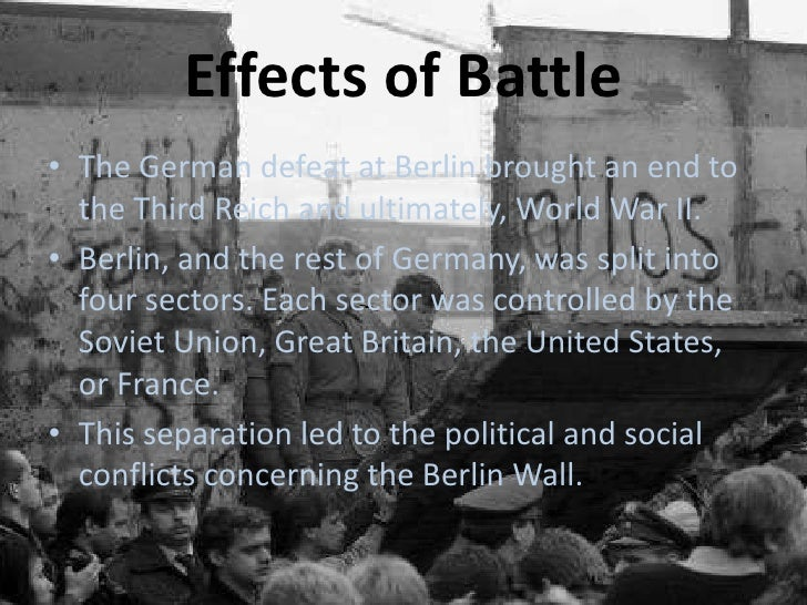 social effects of the berlin wall essay When the berlin wall fell, there were 159 member states of the united nations today there are 193, and that doesn't include de facto nation-states such as taiwan and kosovo the fall of the wall set the ball rolling on the collapse of the cold war geopolitical order and, within two years, of the soviet union itself.