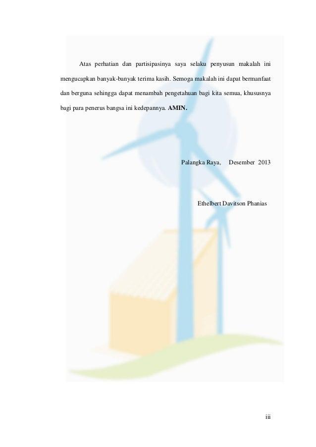 Angin Sebagai Sumber Energi Alternatif