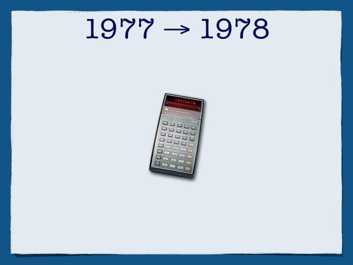 1977 → 1978       +  Integer BASIC