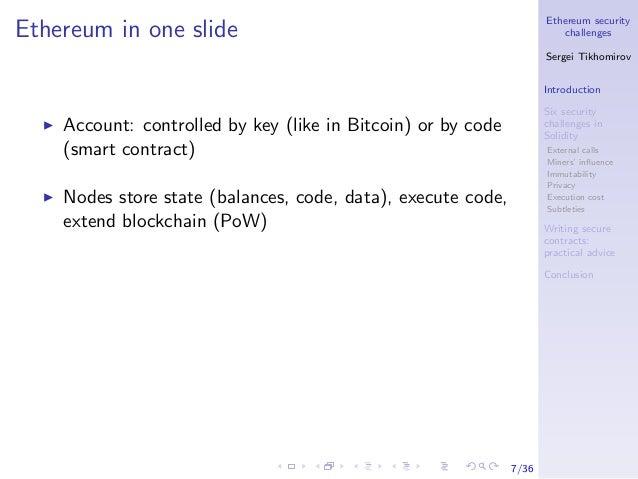 Bitcoin Going To Zero Ethereum Contract Balance – Curriculum