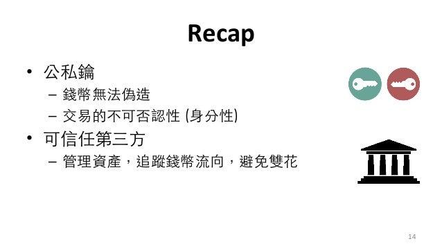 Recap • ⽂ – 本 名 – 多eg  # • 新 – 沒 本 意 14