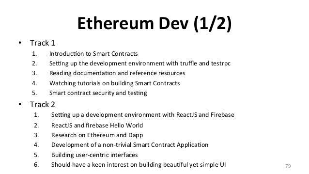 • 三以  – hHp://gavwood.com/Paper.pdf • 可 – hHps://github.com/EtherTW/Taipei-Ethereum-Wiki/wiki/Learning-Resources •...