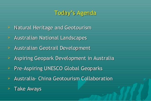 Etheridge Geotourism and the Pre-Aspiring UNESCO Global Geopark Slide 2