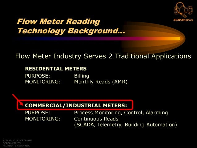 Reading Flow Meters With Revenue-Grade Accuracy Through Your SCADA, Telemetry, Or Building Automation System Slide 2