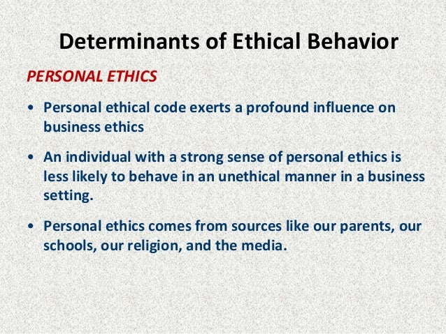 Ethical Behavior Essays (Examples)