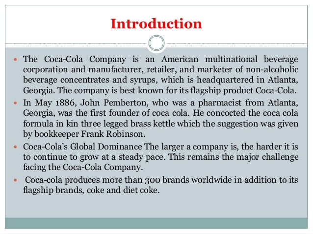 coca cola co a case 1 3 March 1, 2018 coca-cola co and the irs are preparing for a transfer pricing  battle in the us tax court as  the dispute will be tried in the us tax court,  unless the taxpayer was willing to concede the case  31183-15, trial begins 3/5 /18.