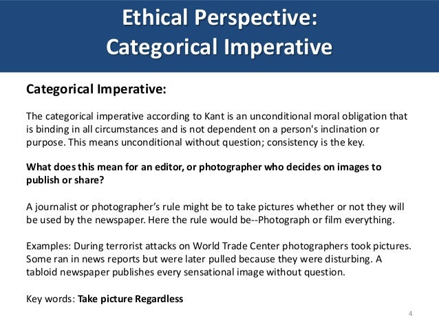 Ethical Decision Making Perspectives in Visual Communications