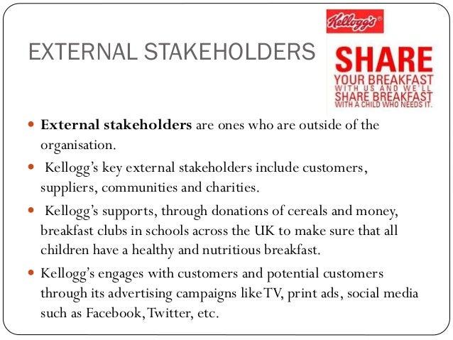 internal stakeholders of nestle