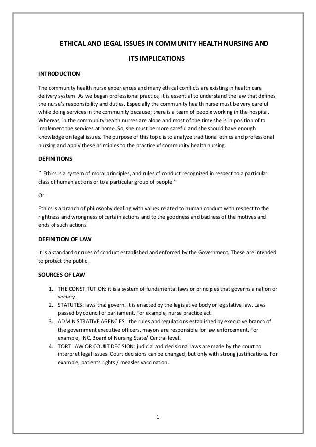 Nursing values essay