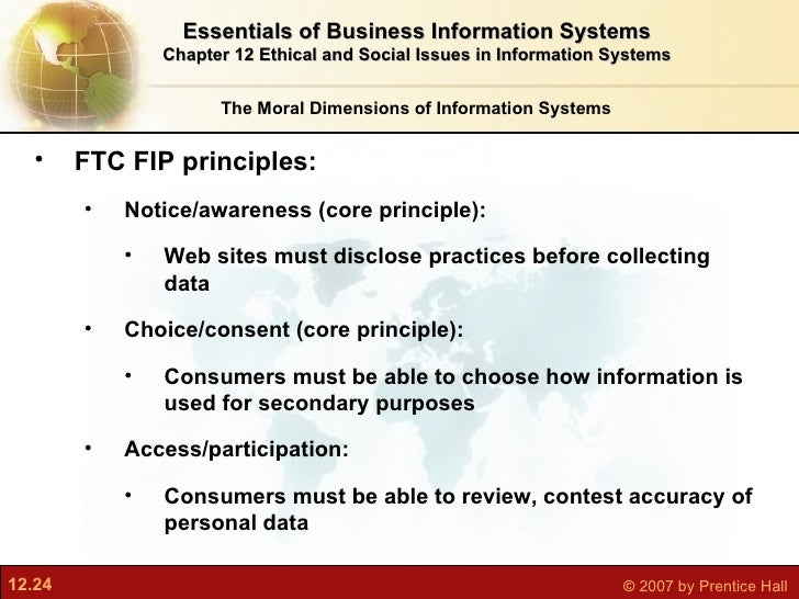 ethics in information system