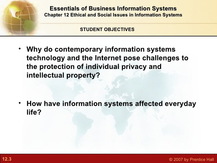 ethical and social issues in information systems doc