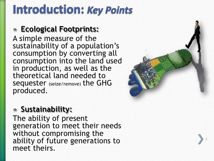 ecological footprint essay notes Global commodity chain sustainability analysis: explanations and  in global commodity chain sustainability analysis:  for an example of an ecological footprint.