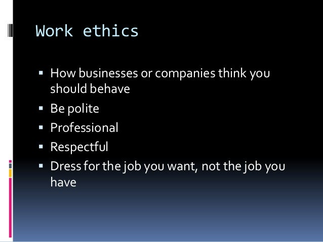 ethical behavior at work Ethics in the workplace can solve empolyee motivation issues ethics in the workplace can work for you in basically two ways they can either be your best friend or your worst enemy.