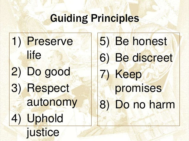 counselor ethical boundaries and principles Principles of counseling leadership certification course level 2  counselor • have an identity  • observe boundaries.