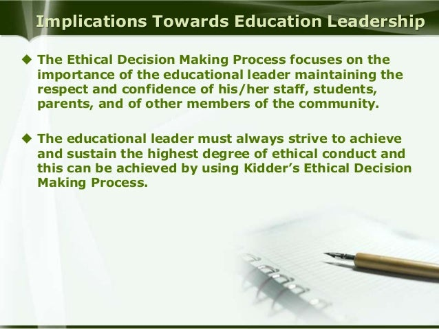 ethical decision essay Generally, ethics is defined as standards of performance that explains how human beings should opt to react during many circumstances in which they meet.
