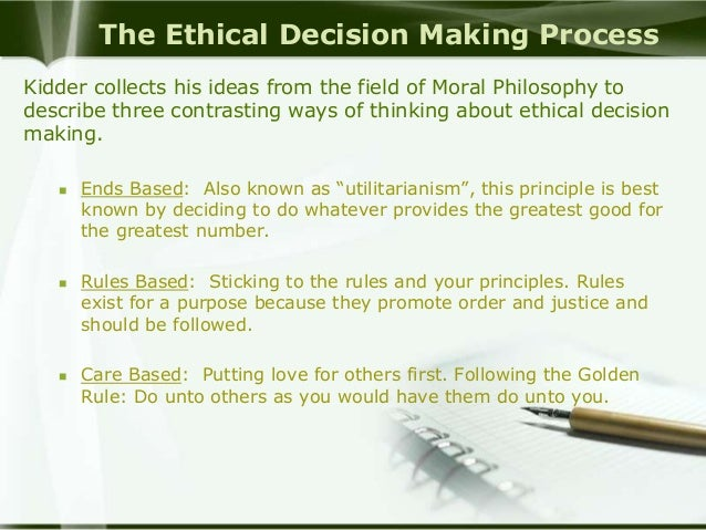 ethical decision making models The study reviewed 20 currently-available structured ethical decision-making models and developed an integrated model.