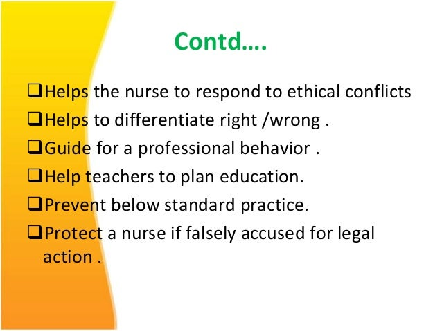 professional behavior in nursing essays Core principle of the nmc code of conduct and how it affects professional  practice  i will outline the terms of professional nursing practice and what  makes.
