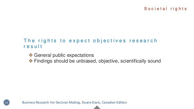 T h e r i g h t s t o e x p e c t o b j e c t i v e s r e s e a r c h r e s u l t  General public expectations  Findings...